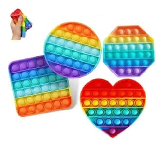 Popit Fidget Toy Empurre Spinner Bolha Brinquedo Anti-stress - Store 7D - Magazine Ofertaesperta