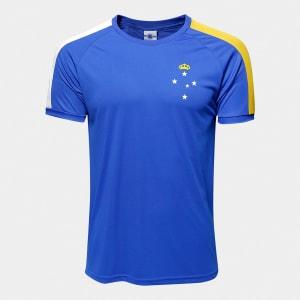 Camisa Cruzeiro 2006 s/n° Masculina - Azul