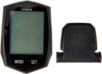 Ciclocomputador Atrio Wireless sem Fio com 22 Funções Tecnologia Touch e Material em Plástico Preto - BI086 Padrão