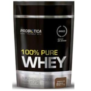 100% Pure Whey Probiótica Refil 825g