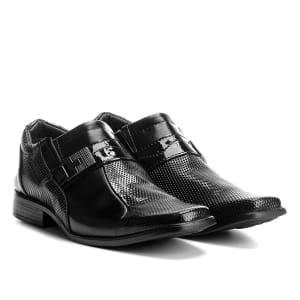 Sapato Social Walkabout 913 Masculino - Preto