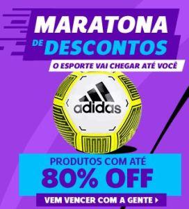 Maratona de Descontos na Netshoes - Produtos com Até 80% de Desconto!
