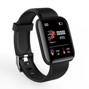 Relógio Inteligente Smartwatch À Prova D\'água Com Pedômetro Monitor De Freqüência Cardíaca