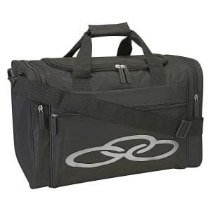 Mala Olympikus Gym Bag - Preto+Prata