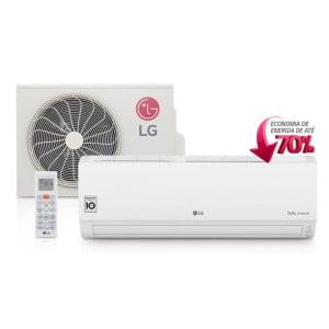 Ar Condicionado Split Hi Wall LG DUAL Inverter 9000 BTUs Quente Frio 220V - S4-W09WA5WA