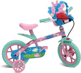 Confira ➤ Bicicleta Aro 12 Peppa Pig Bandeirante Rosa ❤️ Preço em Promoção ou Cupom Promocional de Desconto da Oferta Pode Expirar No Site Oficial ⭐ Comprar Barato é Aqui!