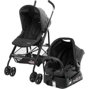 Carrinho de Bebê Travel System Umbrella Trend Preto - Safety 1st