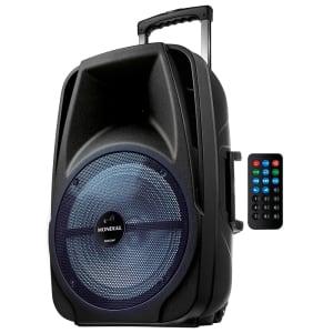Caixa de Som Amplificada Mondial Connect Pro Bluetooth Rádio FM USB 500W - CM-500