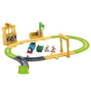 Pista Thomas e Seus Amigos - Castelo dos Macaquinhos - Fisher-Price - Ri Happy Brinquedos