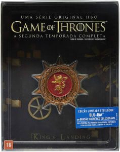 Blu-ray Steelbook Game Of Thrones: 2ª Temporada - 5 Discos