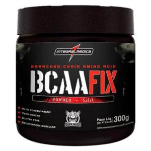 BCAA Fix Power Auxilia Na Produção de Energia (Complexo de Aminoácidos) Solúvel - Limão - 300g - IntegralMedica