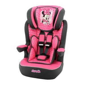 Cadeirinha para Auto Disney I-Max Minnie Mouse Paris Rosa Suporta de 9 a 36Kg