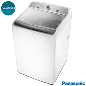 Lavadora de Roupas Panasonic 16 Kg Branca com 9 Programas de Lavagem - NA-F160B5W - PANAF160B5W_PRD