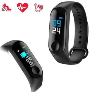 Relógio Inteligente Smartband M3 Monitor Cardíaco