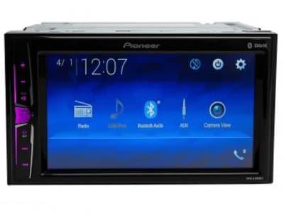 """Multimidia Automotivo Pioneer MVH-A208VBT LCD 6,2"""" - Bluetooth 23 W RMS Entrada para Câmera de Ré USB - Magazine Ofertaesperta"""