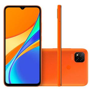 Smartphone Xiaomi Redmi 9C, Tela 6,53´, 2GB/32GB, laranja - CX300LAR