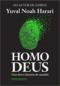 Livro Homo Deus Capa comum