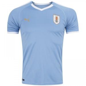 Camisa Uruguai I 2019 Puma - Masculina