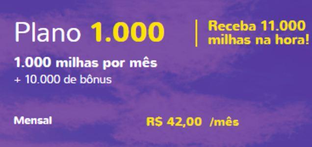 Assine o Clube Smiles 1.000 e Ganhe 11.000 Milhas na Hora!