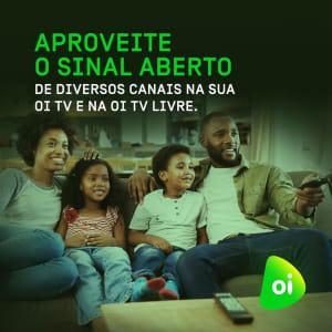 Oi TV - 13 Canais Liberados para Assinantes