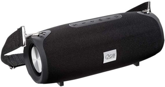Caixa de Som Bluetooth Ultra Sound Go I2go 20W RMS Resistente à Água Preto