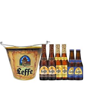 Oferta ➤ Kit trio Leffe, Blonde, Rituel9, Brown + Balde   . Veja essa promoção