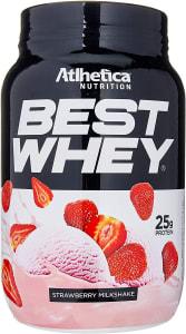 Best Whey Strawberry Milkshake Athletica Nutrition - 900g
