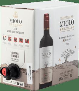 Bag in Box Miolo Cabernet Sauvignon-Merlot 3L