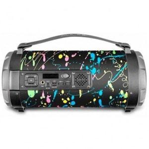 Caixa de Som Multilaser Portátil Paint Blast II 120W Bluetooth com USB e Entrada P10 SP362
