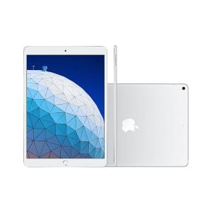 "iPad Apple Air MUUK2BZ/A Wi-Fi 64GB IOS 12 Chip A12 Bionic Tela 10.5"" Câmera 8MP Frontal 7MP Prata"