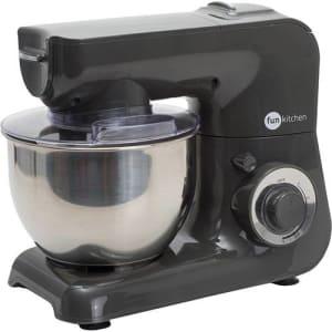Batedeira Power Machine 500W - Fun Kitchen Com 2 Anos De Garantia - Preta ou Vermelha