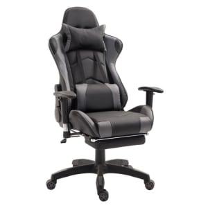 Cadeira Gamer T One Preta e Cinza
