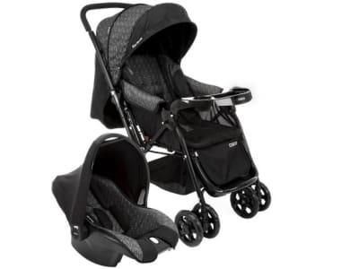 Carrinho de Bebê com Bebê Conforto Cosco - 0 a 15kg - Magazine Ofertaesperta