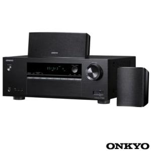 Receiver Onkyo com 5.1 Canais, 105 W por canal, HDMI e USB - HT-S3800 - ONHTS3800PTO