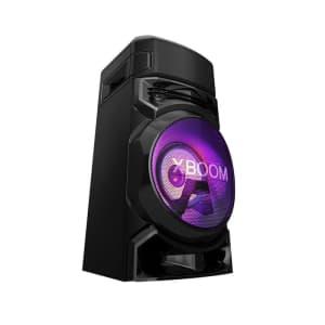 Mini System Torre RN5 LG Bluetooth Karaokê USB Entrada para Guitarra e Microf Efeito de Luzes Bass Blast