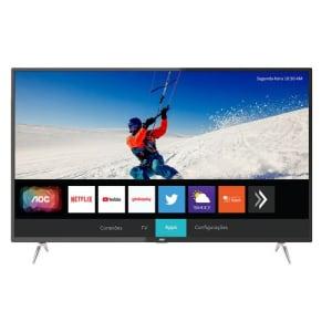 Smart TV LED 4K AOC 50U6295 50 Polegadas UHD 4 HDMI USB Wi-Fi Integrado