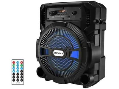 Caixa de Som Lenoxx CA 80 Bluetooth Portátil - Amplificada 120W USB