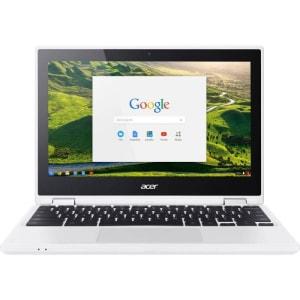 "Chromebook Acer 11,6"" HD CB5-132T-C5MD Celeron N3160 4GB Ram 32GB Memória Chrome OS Branco"