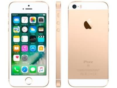 Oferta ➤ iPhone SE Apple 128GB Dourado 4G Tela 4 – Retina Câm. 12MP iOS 10 Proc. Chip A9 Touch ID – Magazine   . Veja essa promoção
