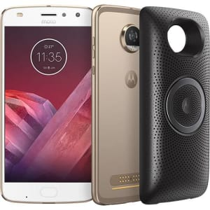 "Smartphone Motorola Moto Z2 Play - Stereo Speaker Edition Dual Chip Android 7.1.1 Nougat Tela 5.5"" Octa-Core 2.2 GHz 64GB 4G Câmera 12MP - Ouro"