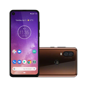 "Smartphone Motorola Moto One Vision 128GB Bronze Tela 6,3"" Câmera Dupla 48MP Selfie 25MP Android 9.0 Pie"