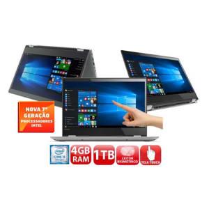 """Oferta ➤ Notebook 2 em 1 Lenovo Core i5-7200U 4GB 1TB Tela 14"""" Windows 10 Yoga 520   . Veja essa promoção"""