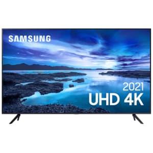 Confira ➤ Samsung Smart 55 TV UHD 4K 55AU7700, Processador Crystal 4K, Tela sem limites, Visual Livre de Cabo ❤️ Preço em Promoção ou Cupom Promocional de Desconto da Oferta Pode Expirar No Site Oficial ⭐ Comprar Barato é Aqui!