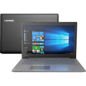 Notebook Ideapad 320 Intel Core i5-8250U 8GB (GeForce MX150 com 2GB) 1TB HD 15,6'' W10 Preto - Lenovo