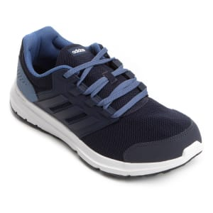 Tênis Adidas Galaxy 4 Masculino - Marinho e Azul