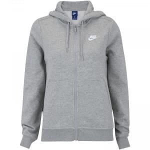 Jaqueta de Moletom com Capuz Nike Sportswear Hoodie FZ FLC - Feminina
