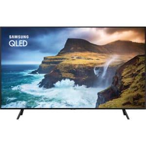"Smart TV QLED 65"" Samsung 65Q70 Ultra HD 4K 4 HDMI 2 USB Wi-Fi Pontos Quânticos"