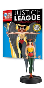 Action Figure Justice League Animated Series: Mulher Gavião - Eaglemoss
