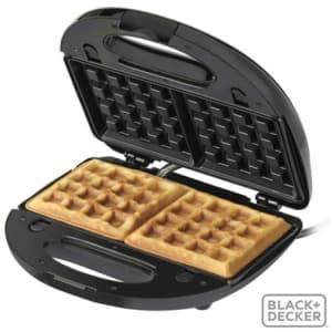 Grill Eletrico Multigrill Black & Decker 3 em 1 com Capacidade para 02 Fatias - BDMULTIGRIPTO