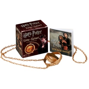 Kit - Livro Harry Potter Time Turner Sticker